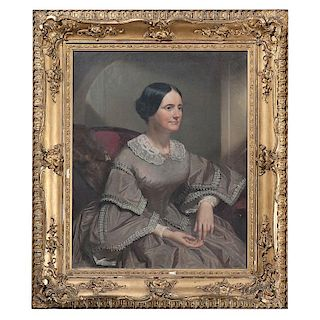 Joseph Oriel Eaton, Portrait of Mrs. James Madison Trimble