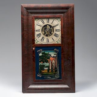 <i>J. & A. Imbery</i> Shelf Clock