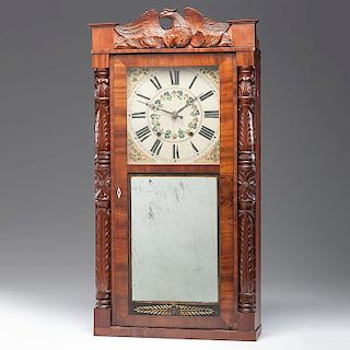 <i>Jeromes & Darrow</i> Shelf Clock