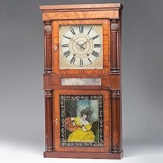 <i>Jeromes Barrow</i> Shelf Clock