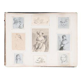 Cincinnati Artist Sketchbook, Signed N. P. Noble