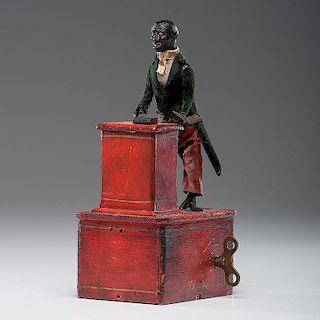 <i>Ives</i> Preacher At The Pulpit Clockwork Toy