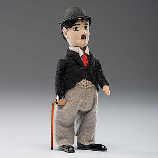 <i>Schuco</i> Charlie Chaplin Wind-Up Toy In Original Box