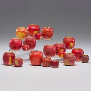 Wooden Apple Caddies