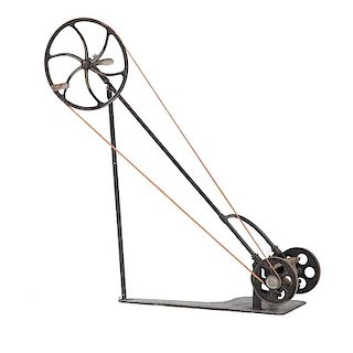 Rare 1878 <i>Johnson Lawn Mower Company</i> Reel Mower