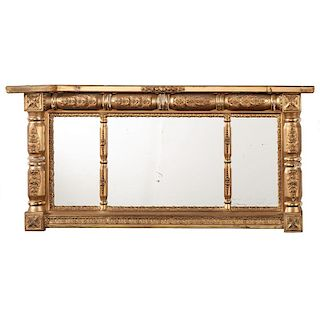 Classical Overmantel Mirror
