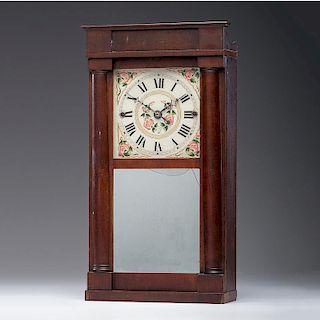 <i>Isaac Packard</i> Clock with Torrington Movement, ca 1830s