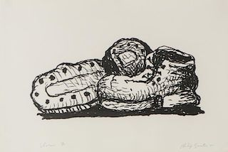 "Philip Guston (1913-1980) ""Shoes"", 1980"
