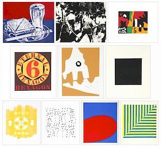Complete Portfolio: X + X (Ten Works by Ten Painters), 1964