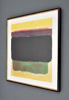 Framed Mark Rothko Posters