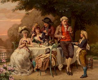CHARLES-ALEXANDRE COESSIN DE LA FOSSE (FRENCH 1829-1910)