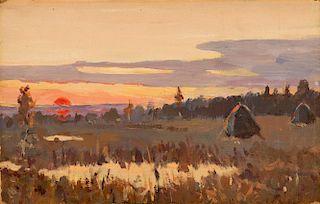 ISAAK ILIITCH LEVITAN (RUSSIAN 1860-1900)