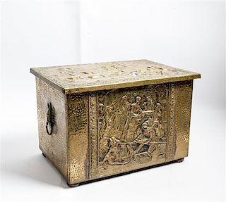 A Copper Kindling Box