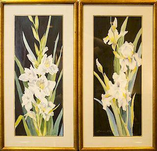 Bonnie Brede, (20th century), Gladiolas (two works)