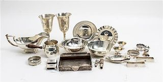 * An Assortment of American Silver Articles