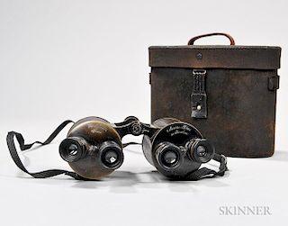 Carl Zeiss Marine-Glas Mit Revolver Binoculars