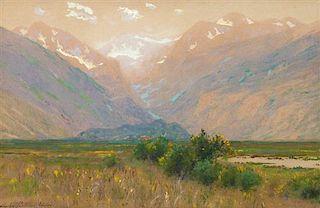 Charles Partridge Adams, (American, 1858-1942), Moraine Park, Colo.