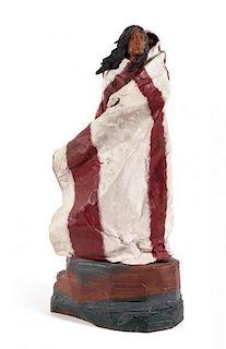 Harry Andrew Jackson, (American, 1924-2011), Sacagawea II