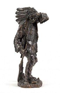 Carl Kauba, (Austrian, 1865-1922), The Sentinel