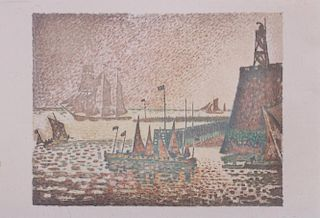PAUL SIGNAC (1863-1935): EVENING (LA SOIR)