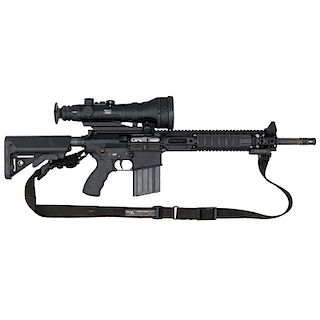 *Lewis Machine LM308MWS Rifle With Night Scope