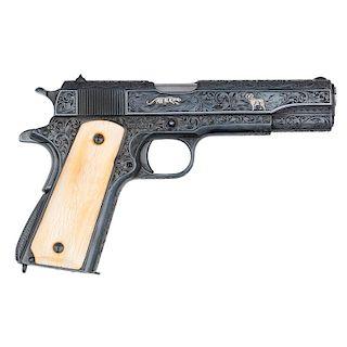**Custom Engraved 1911A1 Pistol