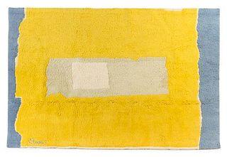 * Theodoros Stamos, (American/Greek, 1922-1997), Untitled tapestry, after Mark Rothko