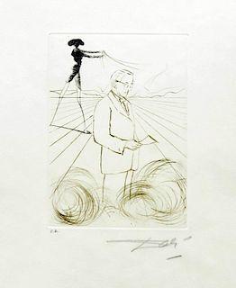 "Dali, Salvador,   Spanish (1904-1989), ""Medicine and Science"", M&L 440-447; F-70-5"