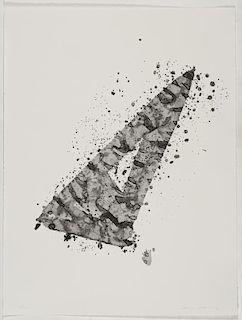 """Francis, Sam,  American 1923-1994,""""Untitled"""",SF.208; L.200"""