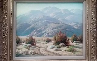"Grimm, Paul,   South Africa1892-Palm Springs 1984,""Desert Road"","