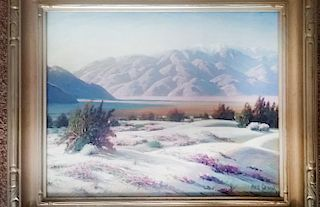 """Grimm, Paul,   South Africa1892-Palm Springs 1984,""""Front Yard of San Gorgonia"""","""