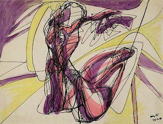 """Hayter,   Stanley William,  British 1901-1988,""""COMPOSITION WITH FEMALE NUDES"""","""