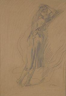 """John, Augustus,  British 1878-1961,""""Dorelia"""",,"""