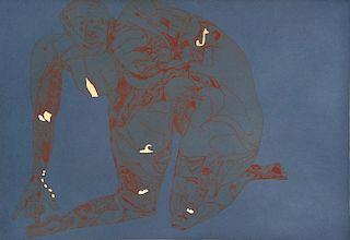 """Clemente, Francisco,  Italian b. 1952,""""Riconcilazione"""","""