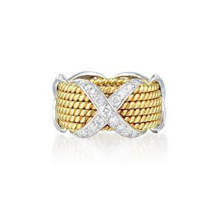 4fb950d05 Tiffany & Co. Diamond Fleur de Lis Ring by Fortuna Auction - 924753 ...