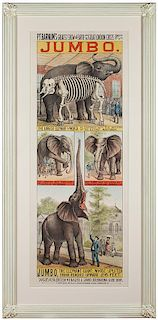 P.T. Barnum's Greatest Show on Earth and the Great London Circus…Jumbo.