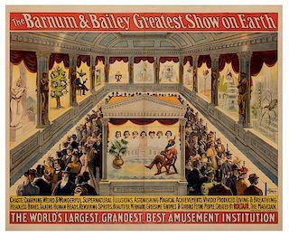 Barnum & Bailey's Greatest Show on Earth. Blue Beard's Chamber.