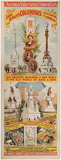 Barnum & Bailey's Greatest Show on Earth. Imre Kiralfy's Columbus and the Discovery of America.