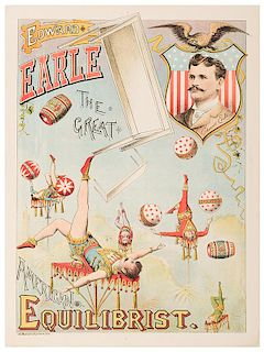 Edward Earle The Great American Equilibrist.
