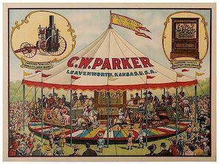 C.W. Parker. Leavenworth, Kansas. U.S.A.