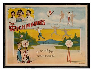The Wichmanns. The New and Original Telephon-Wire-Act.