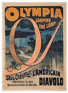 Olympia Looping the Loop / Seul Createur L'Americain Diavolo.