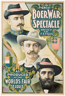 The Great Boer War Spectacle.