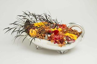 Mexican Sterling Swan Centerpiece Dish, 41.19 ozt