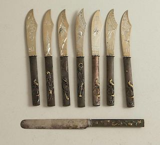 8 Japonism Mixed Metal Knives