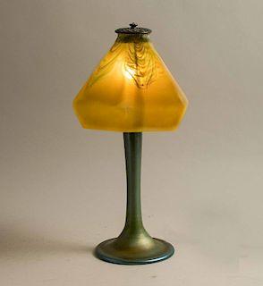 Tiffany Lamp Base with Glass Shade