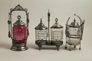 Assorted Pickle Casters