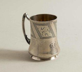 Vanderslice & Co. Aesthetic Silver Mug