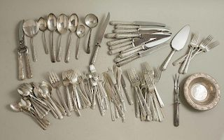 107 Piece Towle Sterling Flatware in Candlelight Pattern