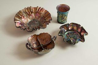 Assorted Carnival Glass